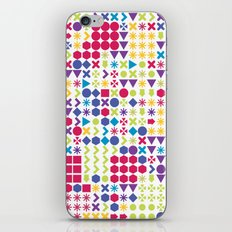 Fun Pattern iPhone & iPod Skin