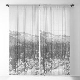 Mount Hoffmann, Yosemite National Park 1907 Sheer Curtain