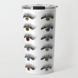 Hypnotic Eyes Travel Mug