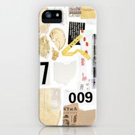 Paper Trail II iPhone Case