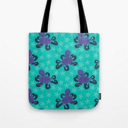 Darien the Hipster Octopus! Tote Bag