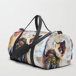 Your Cheetah Eyes Duffle Bag