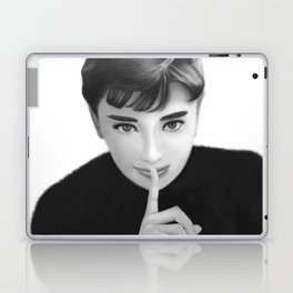 Audrey Hepbun Secret Laptop & iPad Skin