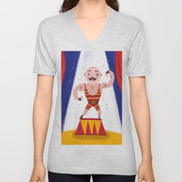 The Muscle Man Unisex V-Neck
