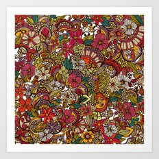 I spy... in colors Art Print