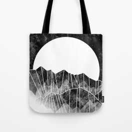 As a mist rolls in... Tote Bag