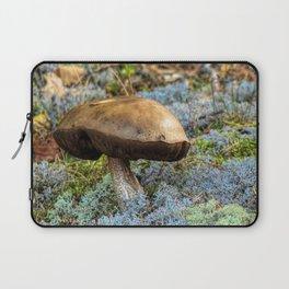 mushroom in swedish forest Laptop Sleeve