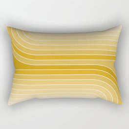 Gradient Curvature VII Rectangular Pillow