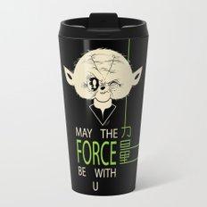 Starwars Yoda - May The Force Be With U Travel Mug