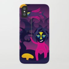 Night of the forest spirit iPhone X Slim Case