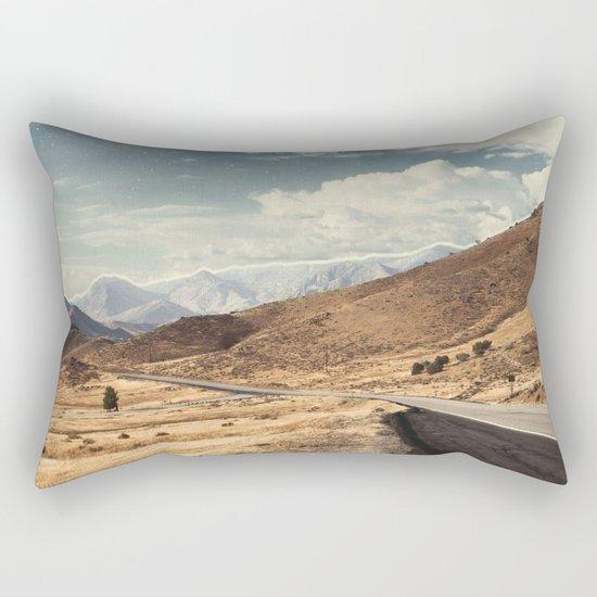 Road trippin California Rectangular Pillow