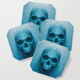 Pixel skull Coaster