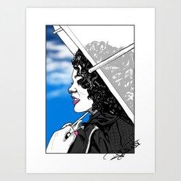 A Sky Full of Jasmine Art Print