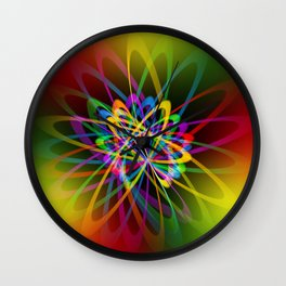 Abstract perfection - 102 Wall Clock