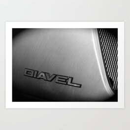 Diavel Detail Art Print
