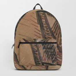Pablo Picasso Naked Head Study Backpack