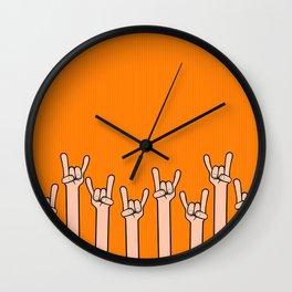 Born to rock Wall Clock
