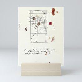 Ideal proportions Mini Art Print