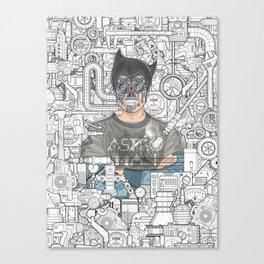 astro man Canvas Print