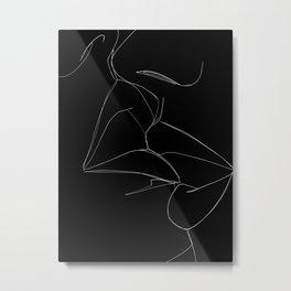 bisou Metal Print