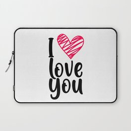 I love you 1 Laptop Sleeve