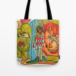 Happy Crimble Tote Bag