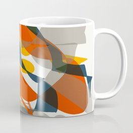 Abstract Bird Coffee Mug