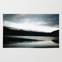 norway Area & Throw Rugs featuring Voss, Norway by anthonyyyg