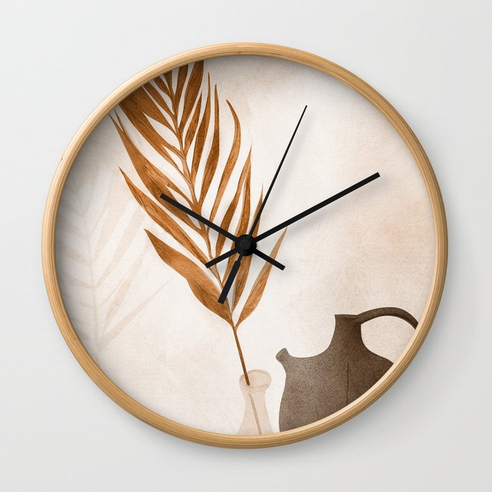 Still Life Art I Wall Clock