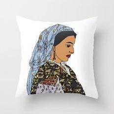 No Ban No Wall   Art Series - The Jewish Diaspora 001 Throw Pillow