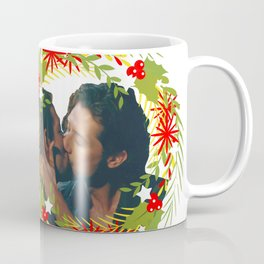 Queliot; Underneath the mistletoe Coffee Mug