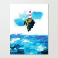 lighthouse Canvas Prints featuring Lighthouse by Vadim Cherniy