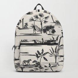 JUNGLE THRIVE BLACK Backpack