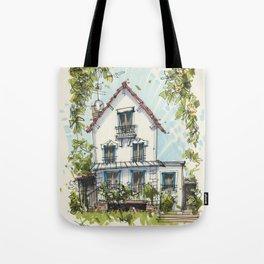 Maison a Paris Tote Bag
