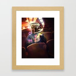 Cinema Poster Framed Art Print