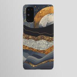 Metallic Mountains Android Case