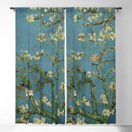 Blossoming Almond Tree Vincent Van Gogh Blackout Curtain