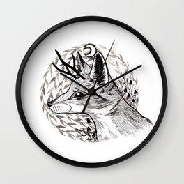 night guardian Wall Clock