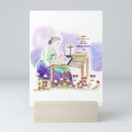 Korean Catholic martyrs : Saint. Pak Hiu-sun Lucia  Mini Art Print