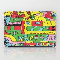ice cream iPad Cases featuring Ice Cream by Rabassa