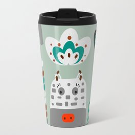 Happy giraffe Travel Mug