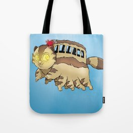 Cat bus Tote Bag