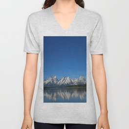 Grand Teton Reflection Unisex V-Neck
