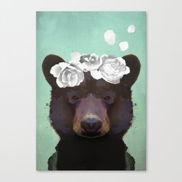 Bela bear 2 Canvas Print