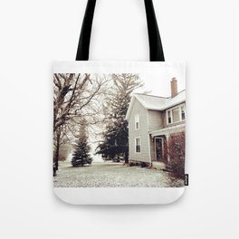 Winter Wonderland in Michigan Tote Bag