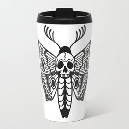 Death Moth Travel Mug