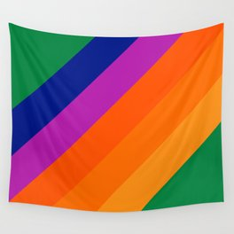 Simple Stripes - Grass Wall Tapestry