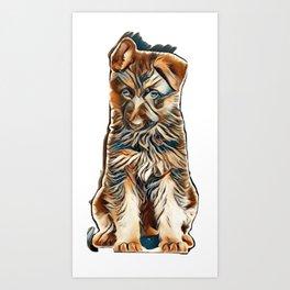 love puppies Art Print