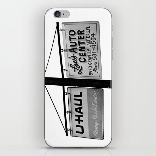 Lou's Auto Center iPhone & iPod Skin