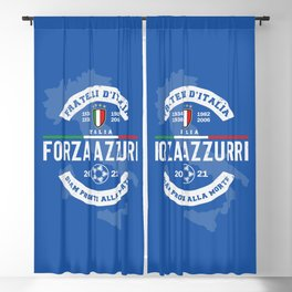 Forza Azzurri (Italia is back!) Blackout Curtain